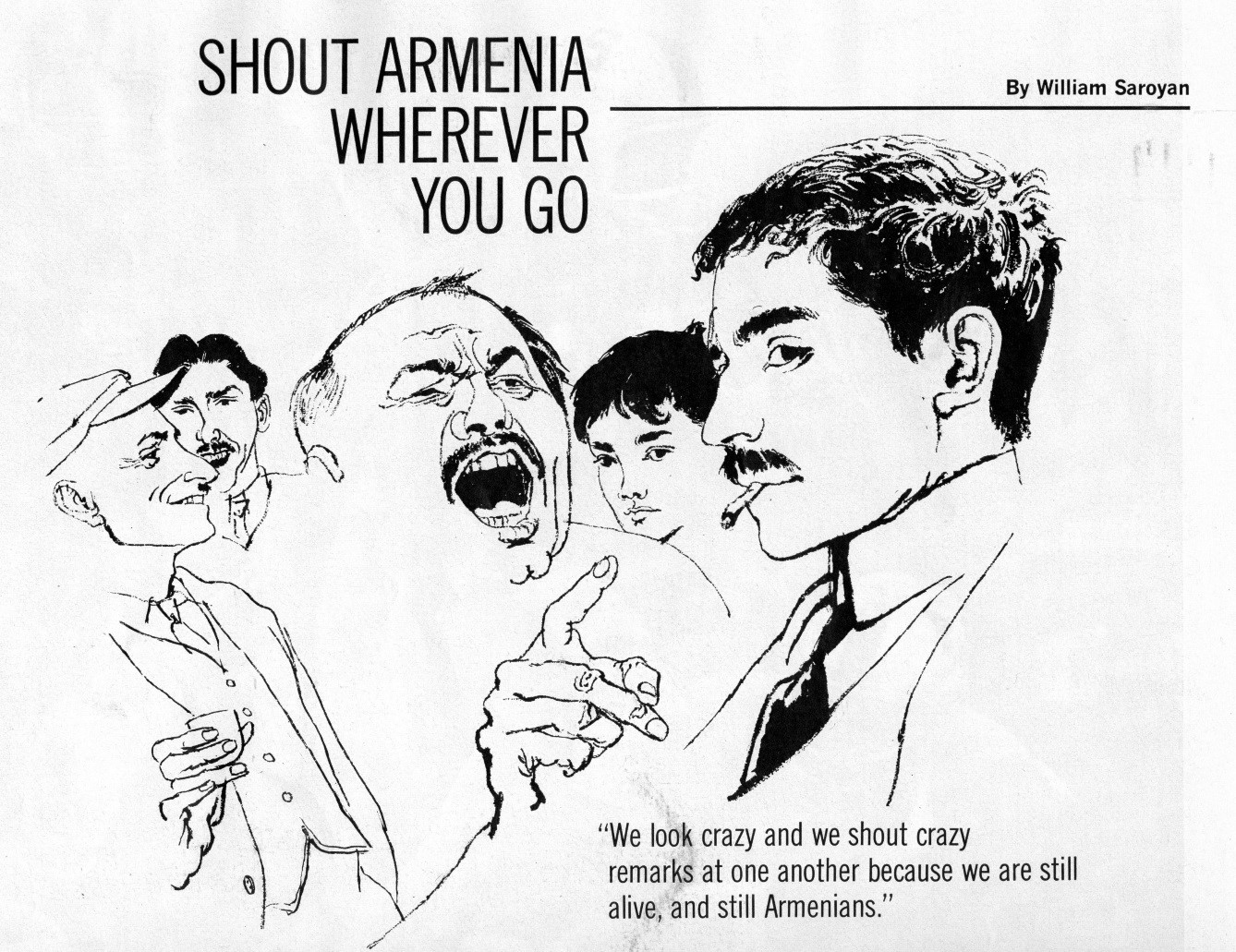 graphic for shout armenia